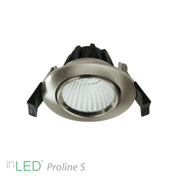 LED Alasvalo inLED Proline S4 - 7W - Kromi