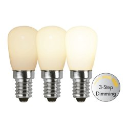 LED lamppu E14 ST26 Opaque Filament 3-step dim