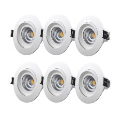 M-Penny 6-pcs 7,4W LED alasvalo 2700 IP44 - 6 pcs