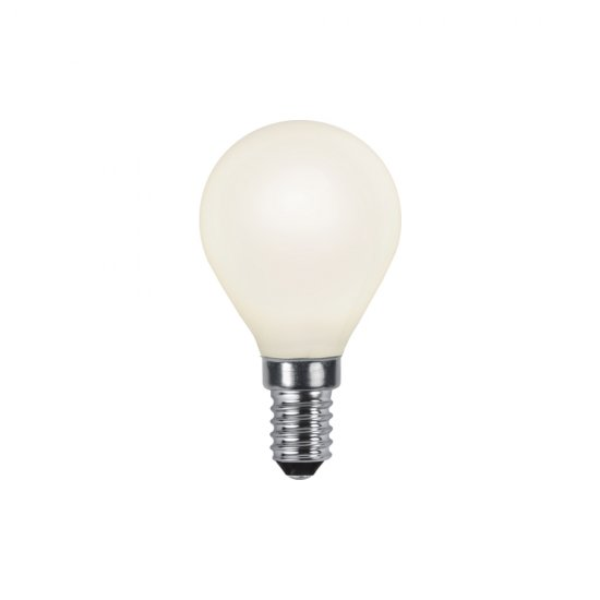 LED-lamppu E14 P45 Opaque Filament Ra90 150-470lm 2700K