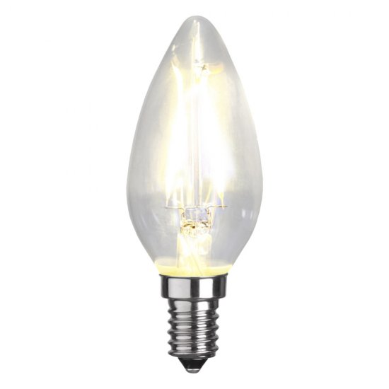 LED-lamppu E14 C35 Clear 150lm 4000K