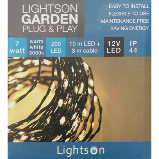 String 10m LED-valoketju 7W - LightsOn